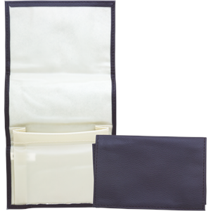 Brown Vinyl Roll Up Tobacco Pouch Great Selection