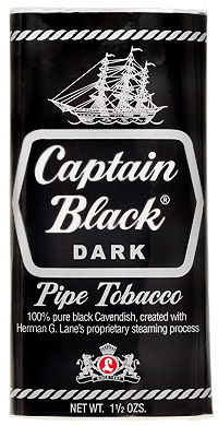 Captain Black Pipe Tobacco Tins & Pouches - Discounted!