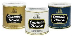 Captain Black Pipe Tobacco - Tins & Pouches