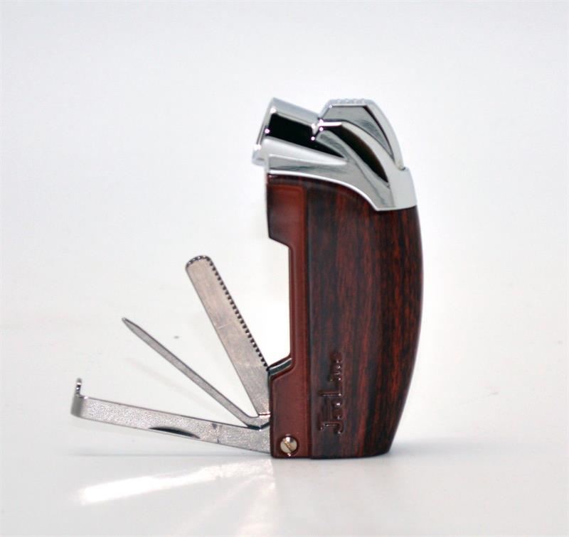 JetLine SAMBA Pipe Lighter - Woodgrain